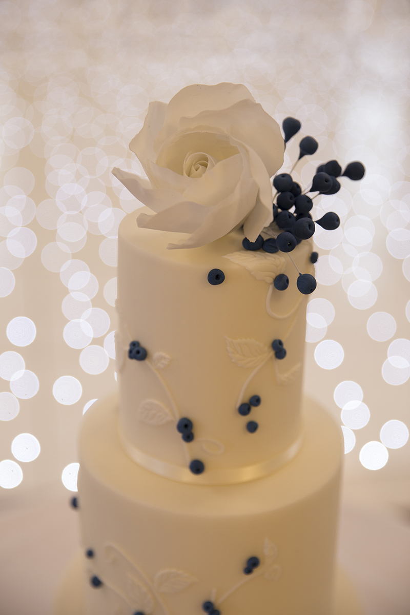 Wedding cake. Kirsten Duberly Photography. Wedding photography Cranleigh and Reigate