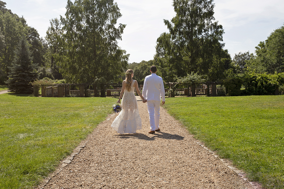 Bridal couple. Kirsten Duberly Photography. Wedding photography Surrey, Wimbledon